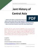 Ancient History of Central Asia by Adesh Katariya