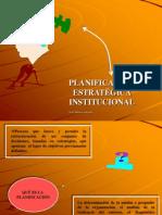 PLANIFICACION ESTRATEGICA INSTITUCIONAL.ppt