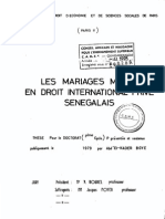 LES MARIAGES MIXTES EN DROIT INTERNATIONAL PRIVE SENEGALAIS.pdf