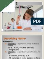 Matter and Change