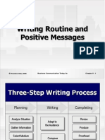 Chapter 8 - Routine and Positive Messages