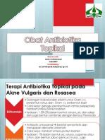 Obat Antibiotika TOPIKAL