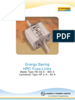 LV Fuse Technical Details
