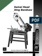 Axminster CMB115 Manual