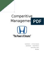 Honda Pakistan (Report)