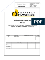 HU-OP-PRO-020 PROCEDIMIENTO TALUCERO.doc