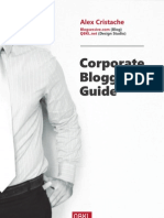 Blogsessive.com - Corporate Blogging Guide - By Alex Cristache
