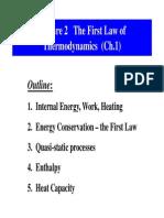 1st Law of Termodynamic