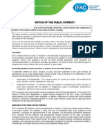PPP5 Definition of Public Interest at a Glance