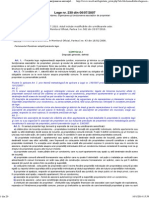 Legea Nr. 230 _ 2007 - Înfiinţarea, Organizarea Şi Funcţionarea Asociaţiilor de Proprietari
