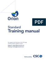 orion pdf cartesian coordinate system icon computing rh scribd com csc orion standard training manual pdf csc orion 18 standard training manual pdf