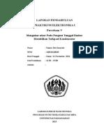 Format Laporan Elektronika I