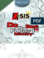 Proposal Donatur X-SIS