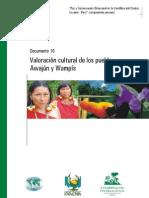Valoración cultural de los pueblos Awajún y Wampís (INRENA)