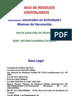 Manejo de RRSS Hospit en Activ Masivas de Inmunizac.pptx