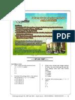 Soal Matematika SMP Sistem Persamaan Linier Dua Variabel SPLDV.pdf
