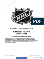 NHL Rulebook