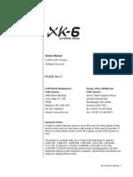Emu's XK6_Operation Manual