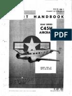 C-45H Flight Handbook T.O. 1C-45H-1
