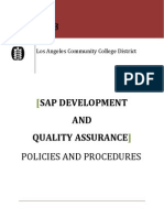 LACCD Policies and Procedures Ver2.0