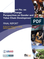 Gender and Value Chain