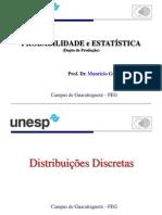 Aula 11 Distribuições DiscretasI.ppt