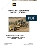 Manual Instruccion Tecnica Motoniveladora 120h Caterpillar