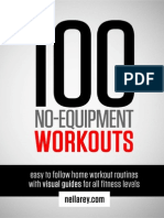 Free 100 No Equipment Workouts