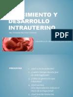 Crecimiento y desarrollo intrauterino Fernanda Murrieta.pptx