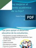 Cómo mejorar el rendimiento académico de su.ppt