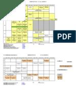 Sem 1 Timetable 2014-15