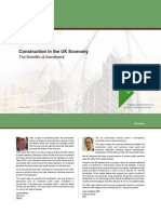 Construction in the UK Economy