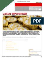 LA VITA AL TEMPO DEI BITCOIN - Inchieste - La Repubblica