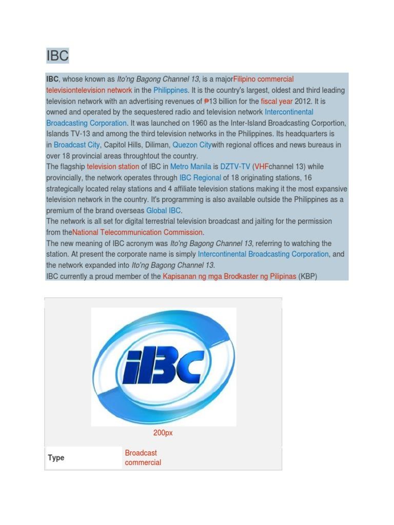Ibc 13 pinoy ang dating — pic 1