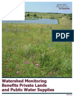 Watershed Monitoring Benefits Private Lands and Public Water Supplies EWF-012