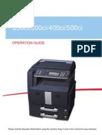 Kyocera Taskalfa 300ci e User Manual