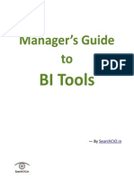 Manager's Guide to BI Tools