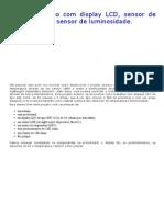 Projeto Arduino com display LCD, sensor de temperatura e sensor de luminosidade.pdf