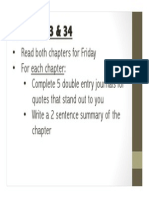 Chapter 33-34 Work