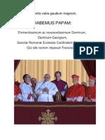 Annuntio Vobis Gaudium Magnum