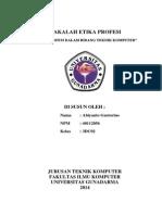 """Makalah """"Etika Profesi Dalam Bidang Teknik Komputer"""".pdf"""