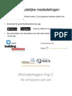 Presentatie Beleggersdag - 7 Oktober 2014