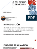 NEOPLASIAS BENIGNAS DEL TEJIDO CONJUNTIVO BENIGNAS - GRUPO 2.pptx