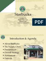 starbucks supply chain analysis