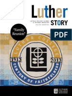 Luther Story Fall 2013 Winter 2014