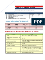 BSNL 3G Prepaid Datacard Service