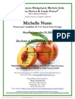 Reception for Michelle Nunn