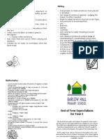 Parent Leaflet - Year 5