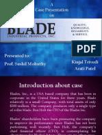 Case Presentation Blade