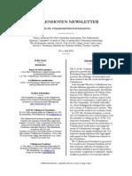 Vollenhoven Newsletter 1 (2003)